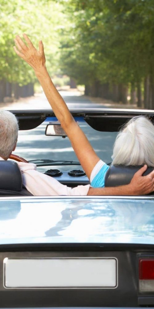couple out for a drive after peripheral neuropathy treatments